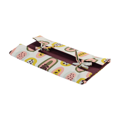 Корзинка для хлеба из хлопка бордового цвета с принтом Passion Fruit из коллекции Wild, 35х35 см Tkano TK19-BB0002