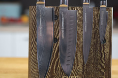 Комплект из 4 ножей Samura Damascus и подставки