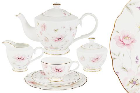 Чайный сервиз Anna Lafarg Emily Розовый танец 21 предмет 54533