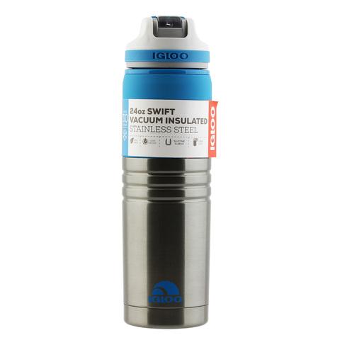 Бутылка для воды Igloo Swift 24 (0,7 литра), серая