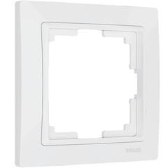 Рамка на 1 пост (белый, basic) WL03-Frame-01 Werkel