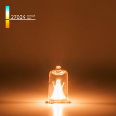 Лампа галогенная G9 220 В 20 Вт прозрачная Elektrostandard