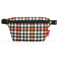 Сумка поясная beltbag S glencheck red Reisenthel WX3068