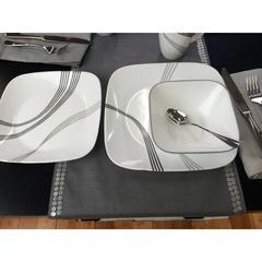 Набор посуды 12 предметов Corelle Urban Arc 1118164