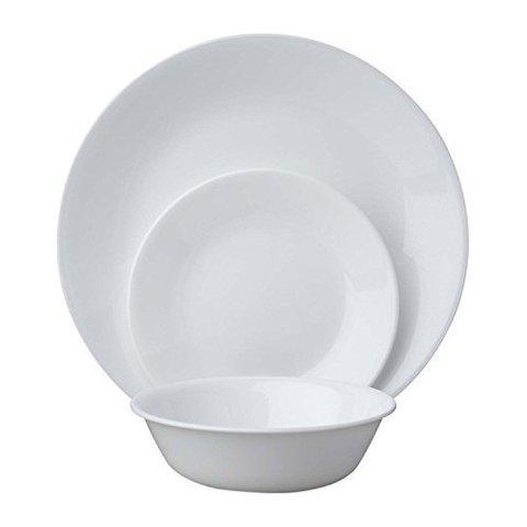 Набор посуды 12 предметов Corelle Winter Frost White 1114097