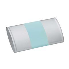 Маникюрный набор Yes, 5 предметов, цвет серый/бирюзовый/розовый, металлический футляр 9316GAR