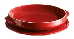 Набор для выпечки пирога «Татен» 28см Emile Henry (цвет: гранат) 343699