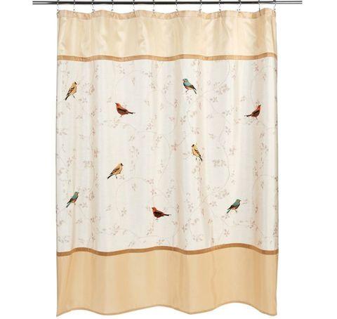 Шторка для ванной Avanti Gilded Birds 11984H