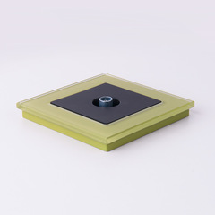 Рамка на 1 пост (фисташковый) WL01-Frame-01 Werkel