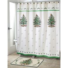 Шторка для ванной Avanti Spode Christmas Tree 11523JCQH