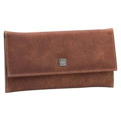 Маникюрный набор Erbe, 5 предметов, цвет коричневый, кожаный футляр 94990ER