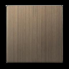 Клавиша для выключателя одноклавишного (бронзовый) WL12-SW-1G-CP Werkel