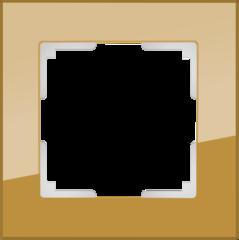 Рамка на 1 пост (бронзовый) WL01-Frame-01 Werkel