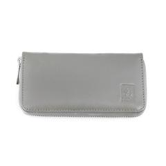 Маникюрный набор Dewal, 5 предметов, цвет серый, кожаный футляр 501GR