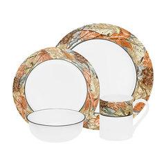 Набор посуды 16 предметов Corelle Woodland Leaves 1109566