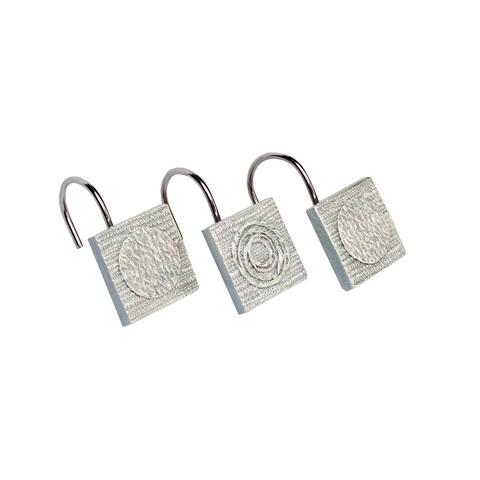 Набор из 12 крючков для шторки Avanti Galaxy Silver 11933G