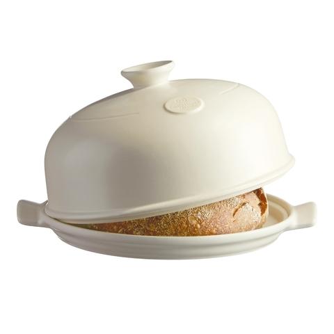 Набор для выпечки хлеба (форма керамическая + лопатка пекарская) Emile Henry (цвет: лен) 509108