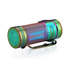 Фонарь светодиодный Olight S Mini Ti Rainbow PVD Титан 918558