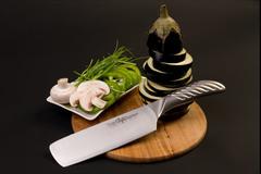 Нож кухонный стальной Накири (165мм) Tojiro Supreme Series DP FD-960