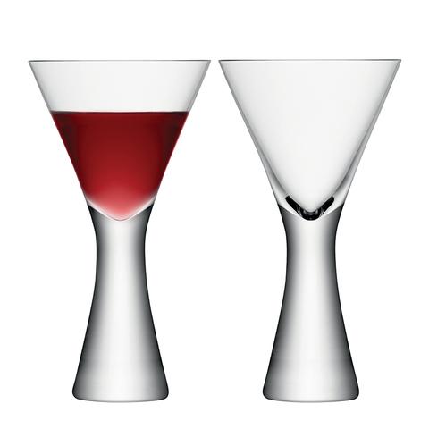 Набор из 2 бокалов для вина Moya 395 мл прозрачный LSA G846-14-985