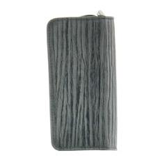 Маникюрный набор Erbe, 5 предметов, цвет серый, кожаный футляр 9105ER