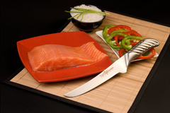 Нож кухонный стальной обвалочный (160мм) Tojiro Supreme Series DP FD-958