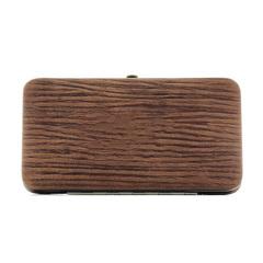 Маникюрный набор Erbe, 7 предметов, цвет коричневый, кожаный футляр 9103ER