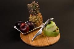 Нож кухонный стальной овощной (70мм) Tojiro Supreme Series DP FD-950