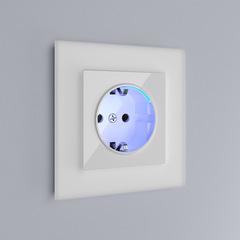 Рамка на 1 пост (белый матовый) WL01-Frame-01 Werkel