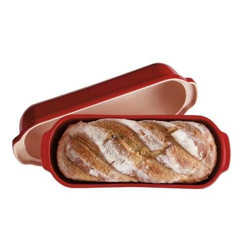 Форма для выпечки итальянского хлеба Emile Henry (цвет: гранат) 345503