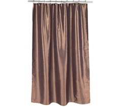 Шторка для ванной Carnation Home Fashions Shimmer Bronze FSC15-FS/82