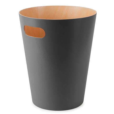 Корзина для мусора Woodrow серая Umbra 082780-618