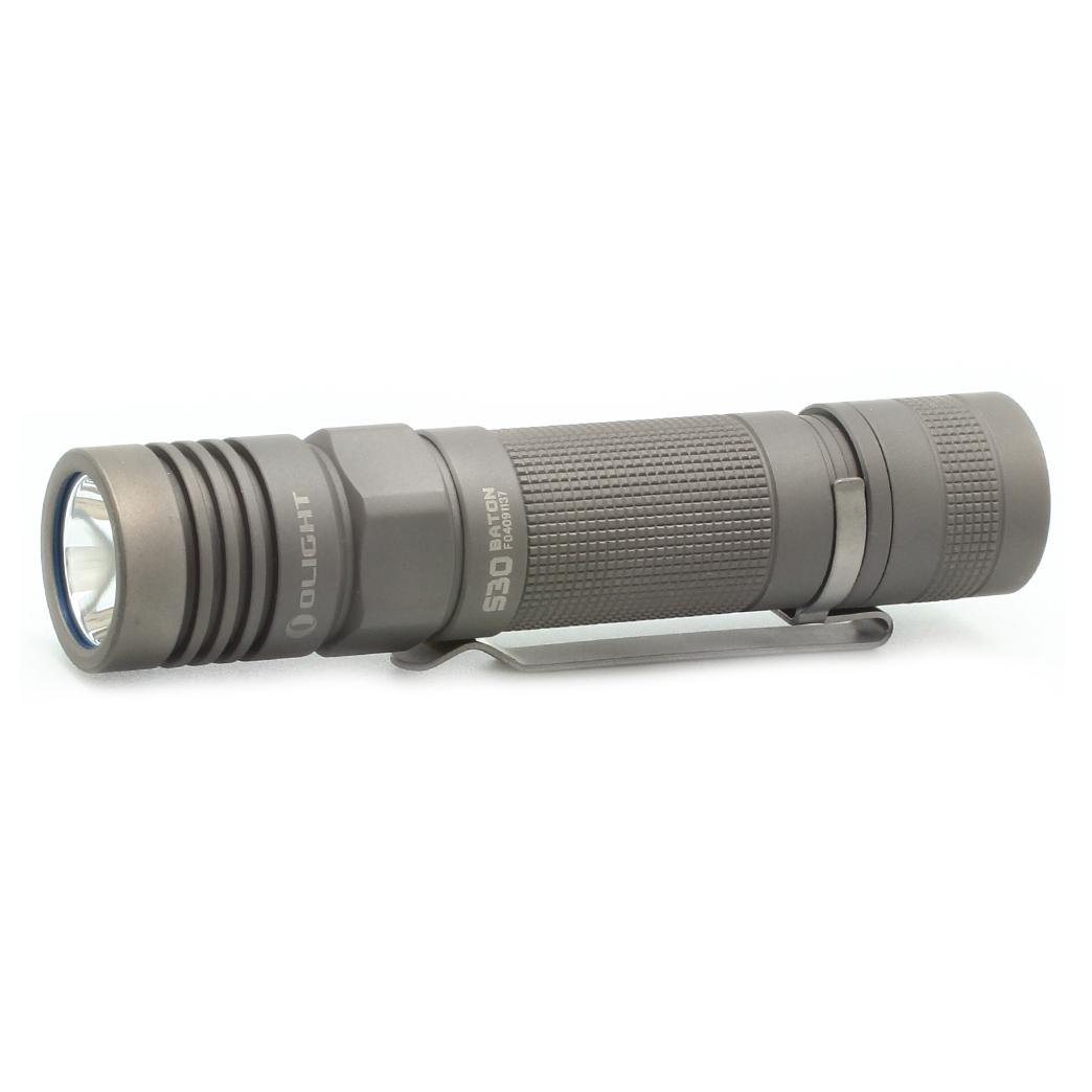 Фонарь светодиодный Olight S30-Ti Baton Титан 918220