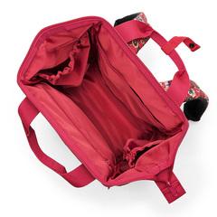 Рюкзак Allrounder R paisley ruby Reisenthel JR3067
