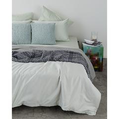 Комплект постельного белья двуспальный из сатина мятного цвета из коллекции Wild Tkano TK20-DC0038