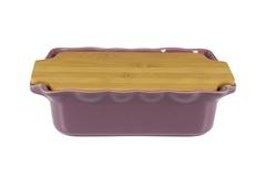 Форма с доcкой прямоугольная 33,5 см Appolia Cook&Stock PLUM 131033508