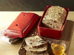 Форма для выпечки хлеба 24x15x12,5cм Emile Henry (цвет: гранат) 345504