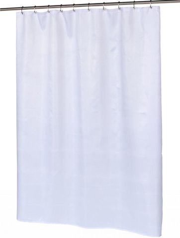 Шторка для ванной Carnation Home Fashions Waffle Weave White SCWAF-21