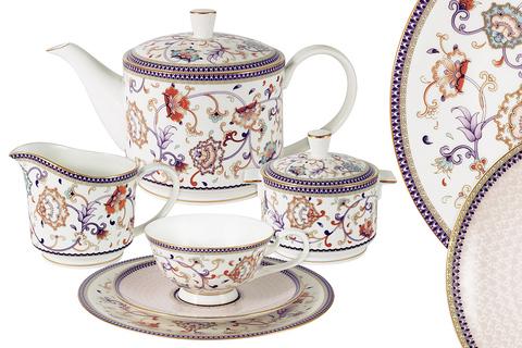 Чайный сервиз Anna Lafarg Emily Королева Анна 40 предметов 55968