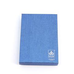 Маникюрный набор Dewal, 5 предметов, цвет серый, кожаный футляр 505GR