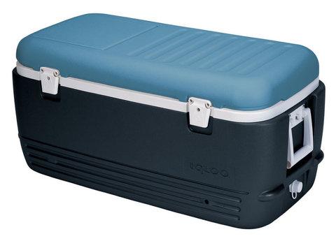 Изотермический контейнер (термобокс) Igloo MaxCold Polar 120 темно-синий