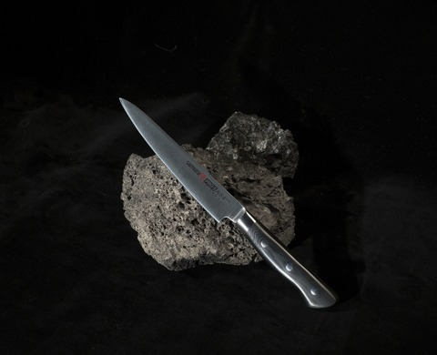 Нож кухонный стальной универсальный Samura PRO-S SP-0023/K