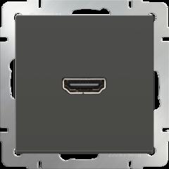 Розетка HDMI (серо-коричневый) WL07-60-11 Werkel