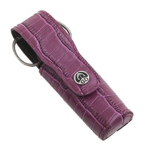 Маникюрный набор GD, 3 предмета, цвет розовый, кожаный футляр 1501PKN