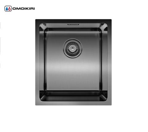 Кухонная мойка из нержавеющей стали OMOIKIRI Notoro 39-GM (4993079)