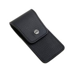 Маникюрный набор GD, 3 предмета, цвет черный, кожаный футляр 1503BkON