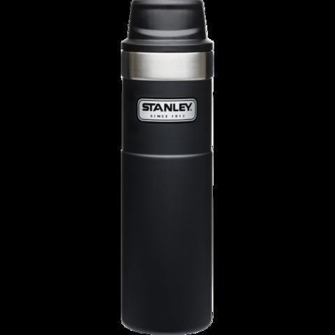 Термокружка Stanley Classic Trigger Action One Hand (0,47 литра), черная 10-06439-006