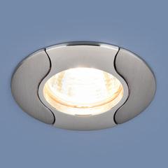 Встраиваемый точечный светильник 7006 MR16 CH/N хром/никель Elektrostandard