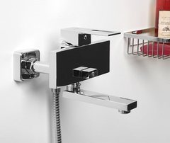 Alme 1501 Смеситель для ванны с коротким изливом WasserKRAFT Серия Alme 1500