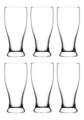 Набор из 6 стаканов для пива 570мл LAV Brotto  LV-BRO29Z*